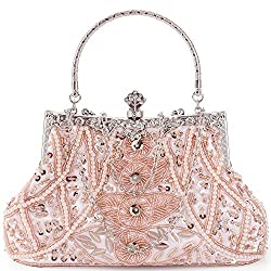 Elegantly Beaded Luxurious Handbag