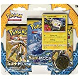 Pokemon TCG Sun & Moon Three-Booster Blister with Togedemaru Promo Card
