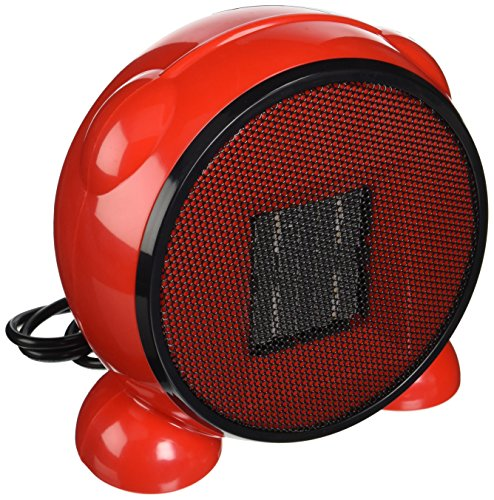 E-Joy Ceramic Portable Personal Electric Space Heater 500 Watt, Red e-Joy