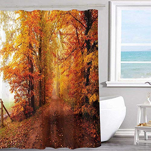 MKOK Decorative Shower Curtain 72