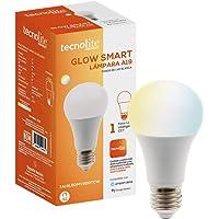 GLOW SMART, Foco Inteligente LED, 7 W, Base E27, Luz CCT Atenuable, Compatible con Tecnolite Connect App Compatible con…