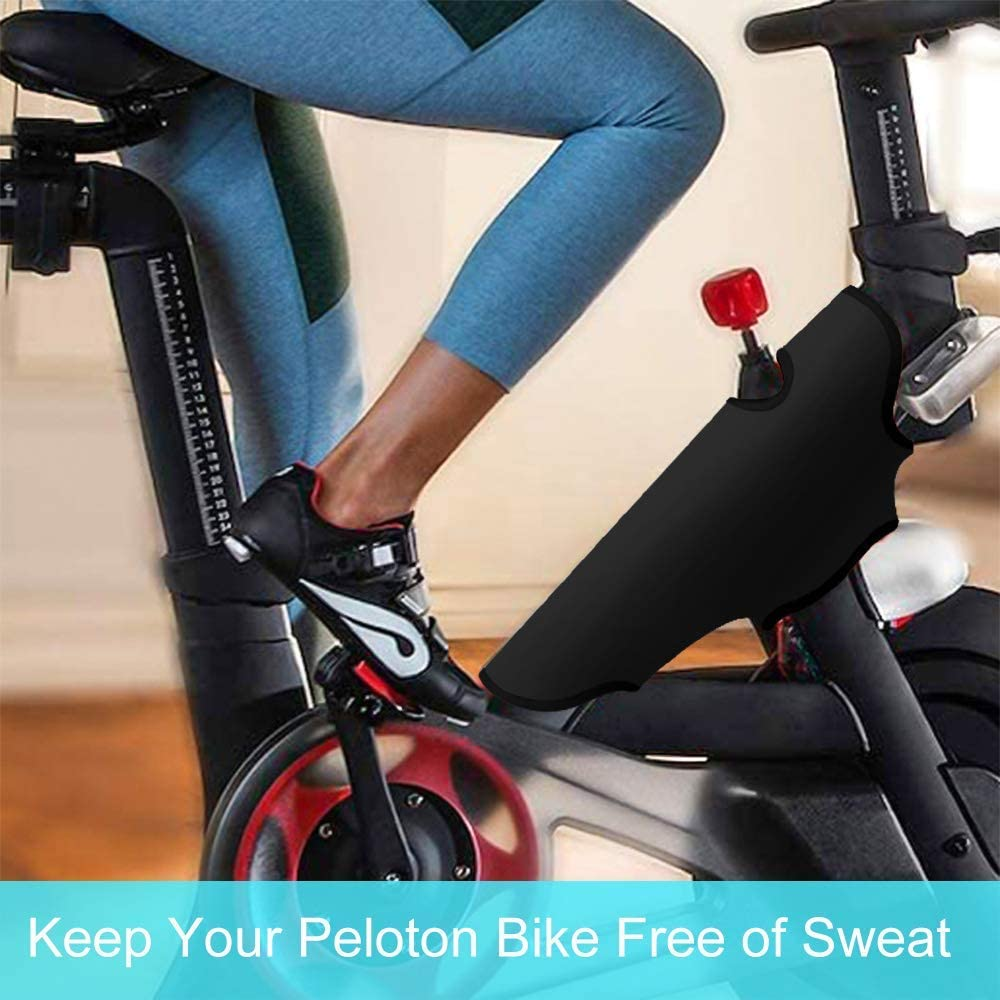 Exercise Bike Frame Wrap Custom Sweat Towel for Peloton Bike Keeps Frame Dry and Free of Sweat Accessories for Peloton Bike Exercise Cycling Bike Frame Protection Can Be Washed in Washing Machine
