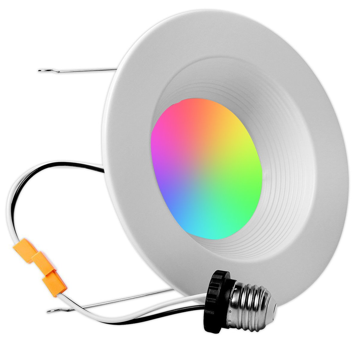 iLintek Smart LED Downlight, 13W 6inch Decorative lights, Dimmable, Multicolred