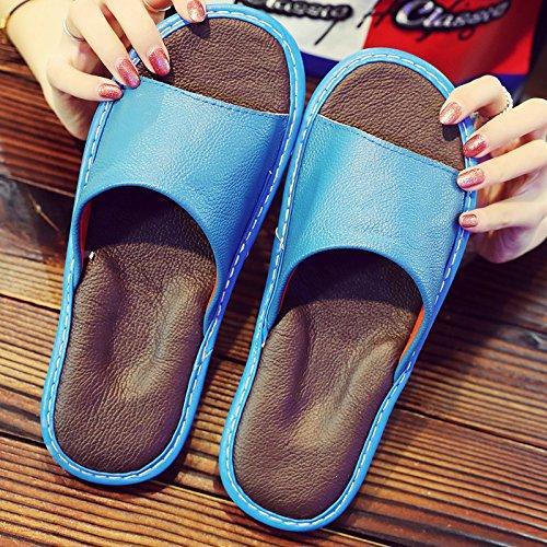 44 blu 43 fankou Pantofole silenziose Fwqt1TH