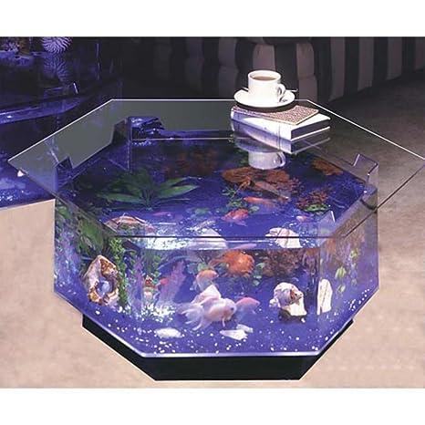 Aqua Octagon mesa de café 40 L Acuario