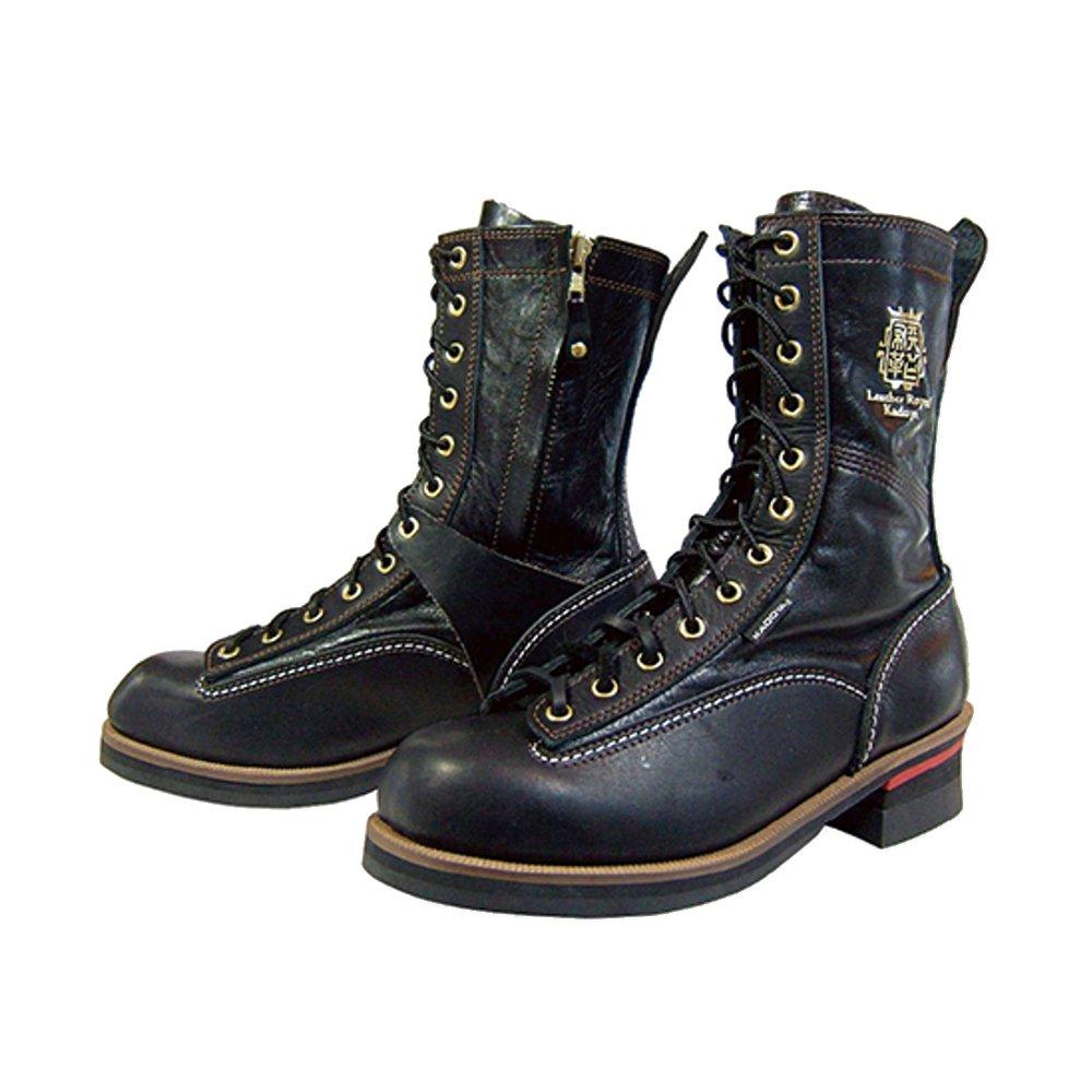 カドヤ(KADOYA) バイク用ブーツ RIDE LOGGER(ライドロガー) ブラック/ブラック 24.5 NO.4320 B01EW9NHJA ブラック/ブラック 24.5cm