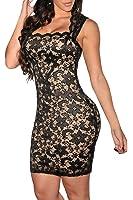 Dearlovers Women Vintage Clubwear Bodycon Lace Party Dress