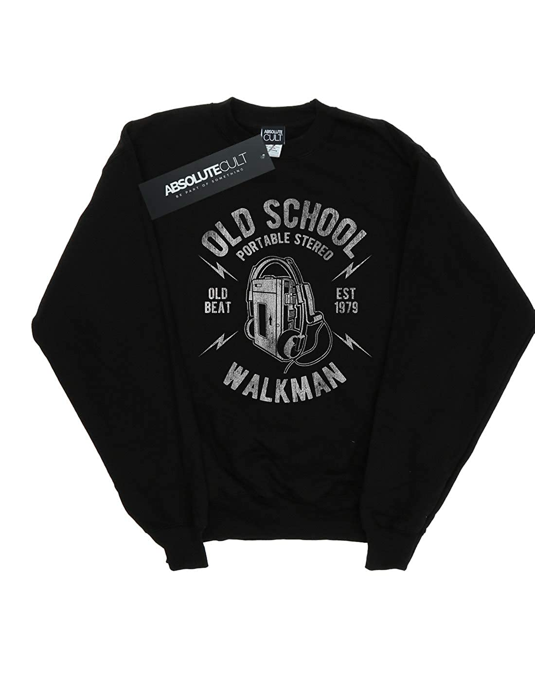 Absolute Cult Drewbacca Girls Old School Walkman Sweatshirt