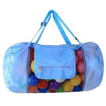 Amazon.com: AUSWIEI Bolsa de malla para la playa ...