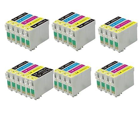 28 ECS Cartucho de Tinta Compatible reemplazar T1285 para Epson ...