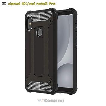 Cocomii Commando Armor Xiaomi Redmi Note 5/Note 5 Pro Funda [Robusto] Táctico Sujeción Antipolvo Antichoque Caja [Militar Defensor] Cuerpo Completo ...