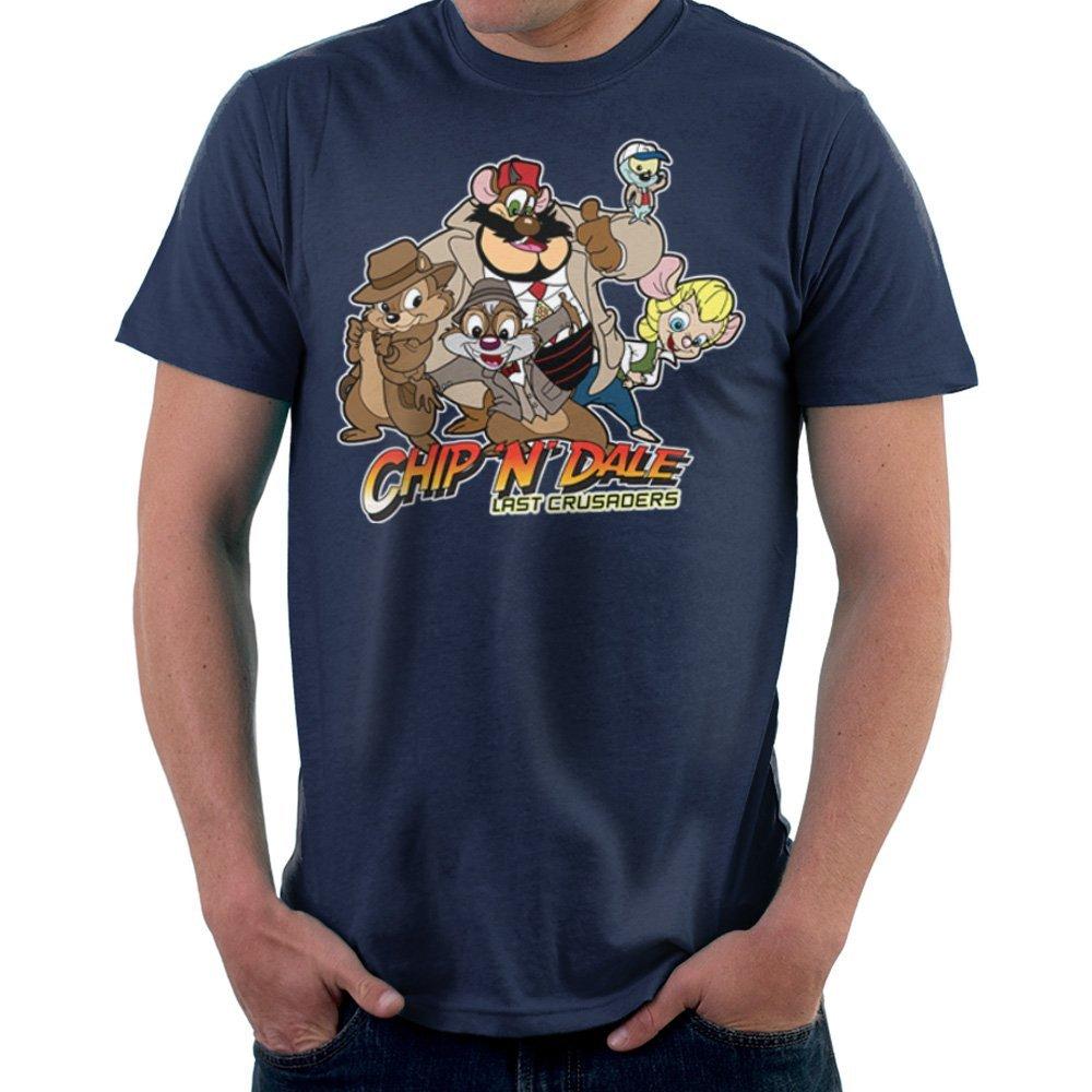 Chip N Dale Last Crusaders Indiana Jones Rescue Rangers Shirts