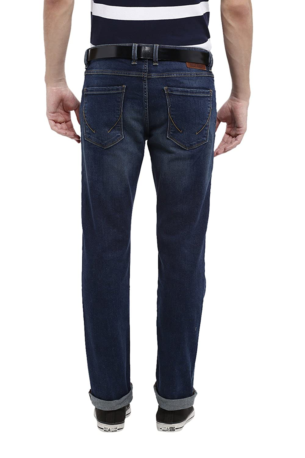 Allen Solly Men's Low Waist Slim Jeans
