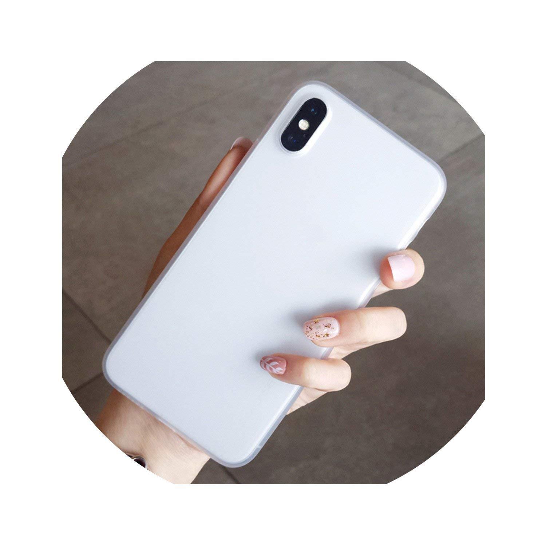 Amazon.com: Matte White Cover for Huawei P20 Pro P8 P9 P10 ...