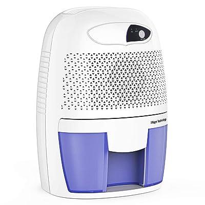 .com - hysure Quiet and Portable Dehumidifier Electric Deshumidificador, Home Dehumidifier for Bathroom, Crawl Space, Bedroom, RV, Baby Room -