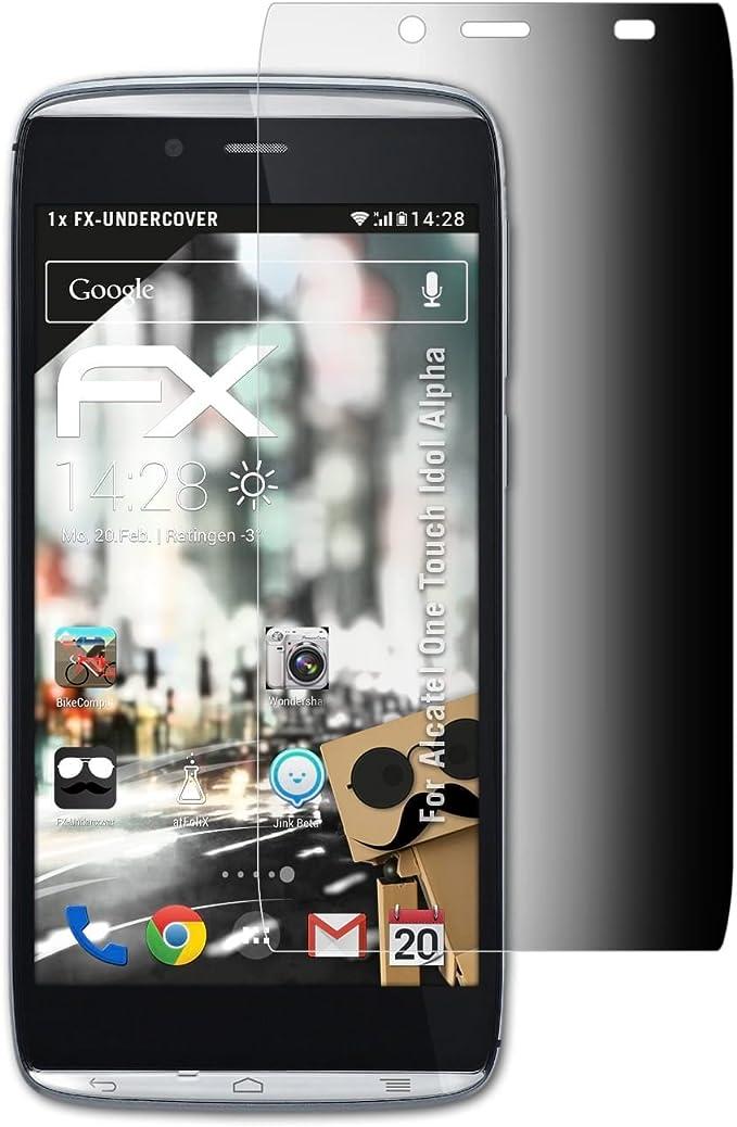 atFoliX Filtro de Privacidad Compatible con Alcatel One Touch Idol ...