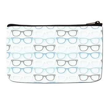 2494db5926dd Amazon.com : Lgtbg Cosmetics Nerd Travel Makeup Bag One size : Beauty