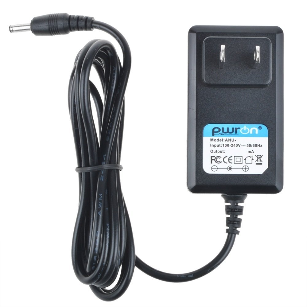PwrON 6.6 FT Long 5V AC to DC Power Adapter Charger For NAXA NPC-330 Slim Personal Portable CD/MP3 Player FM Radio
