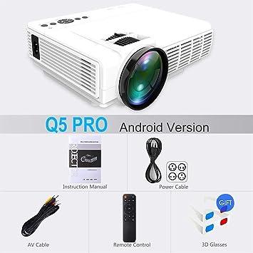 FANGLING-projectors HD Q5 Projector 720P Full-HD Mini Projetor 800 ...
