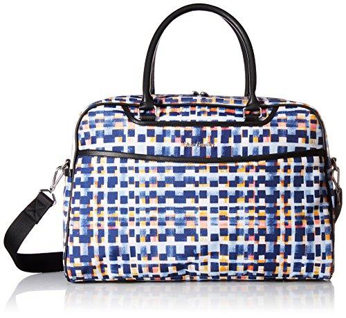Vera Bradley Iconic Weekender Travel Bag, Microfiber, Abstract Blocks by Vera Bradley
