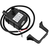 Water pump, cooling cycle brushless miniature motor pump, for aquarium water fountains