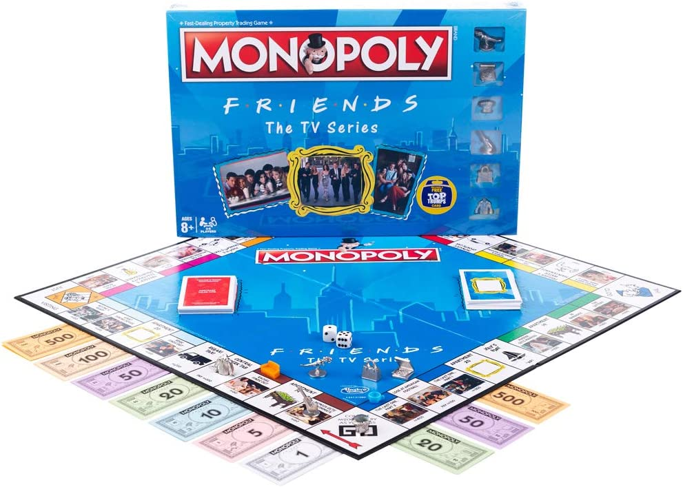 Winning Moves Friends Monopoly Game Set: Amazon.es: Juguetes y juegos