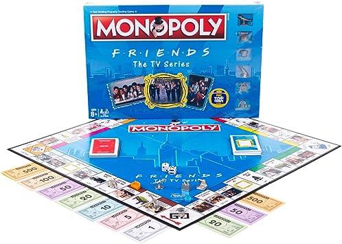 Winning Moves Friends Monopoly Game Set: Amazon.es: Juguetes y juegos