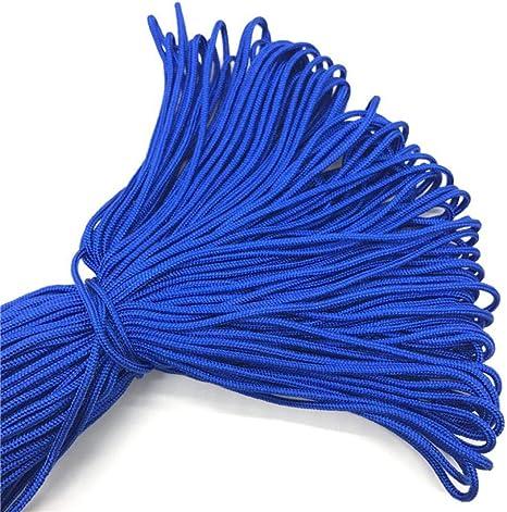 LLAAIT 10 Yardas/Lote 2 mm Cuerda de paracaídas sólida Cuerda ...
