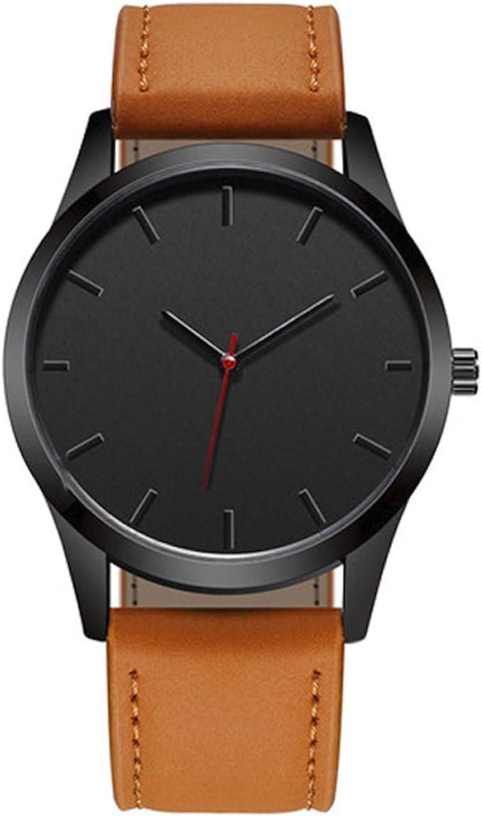 relojes hombre cuero