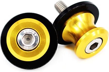 M8 Swingarm/Spools For Suzuki GSX-R 600 700 1000 GSR400 600 750 Kawasaki Z800 Z900 Z1000 Ninja 650 BMW S1000R S1000RR Honda CBR600 CBR1000RR Ducati Multistrada 950