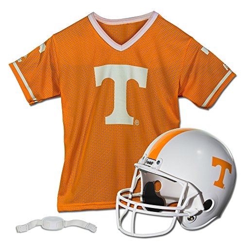 Franklin Sports NCAA Tennessee Volunteers Helmet and Jersey - Cycling Tennessee Jersey