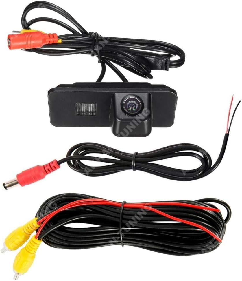 Akhan Cam08 599 Cam08 11 Farb Rückfahrkamera Einparkhilfe Kamera Für Nummerschildbeleuchtung Kennzeichenbeleuchtung Auto