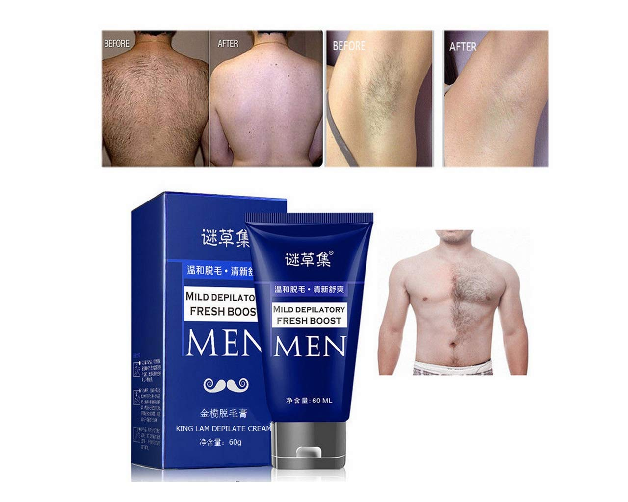 Aviat Man S Permanent Hair Removal Cream Spray Stop Hair Growth