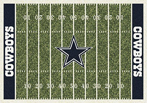 Dallas Cowboys NFL Team Home Field Area Rug by Milliken, 5'4