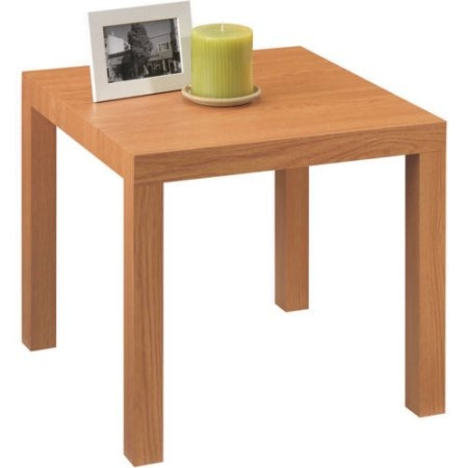 Mainstays Parsons Side End Table, Multiple Colors (Natural)