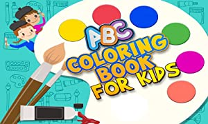 ABC Coloring Book for Kids from Kiddys Games