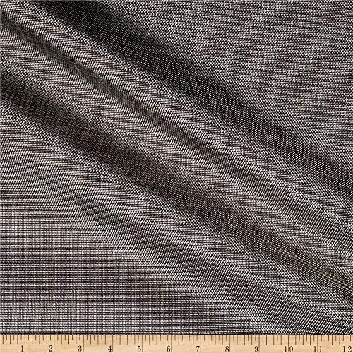 Sunbrella Sling Augustine Fabric, Pewter, Fabric By The Yard (Fabric Sunbrella Mesh)