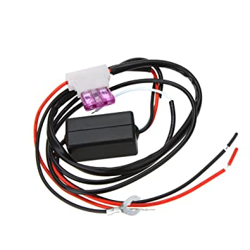 KKmoon Car LED Daytime Running Light Automatic ON//OFF Switch Controller 12V DRL Relay