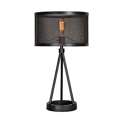 Amazon.com: ren-wil Livingstone lámpara de mesa, Livingstone ...