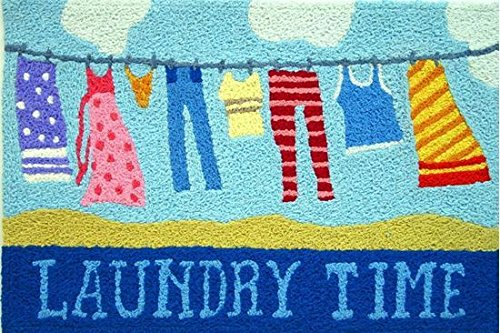 laundry time clothesline accent area