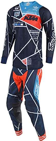 Red//Navy//Small Troy Lee Designs SE Pro Air Seca 2.0 Mens Off-Road Motorcycle Jersey