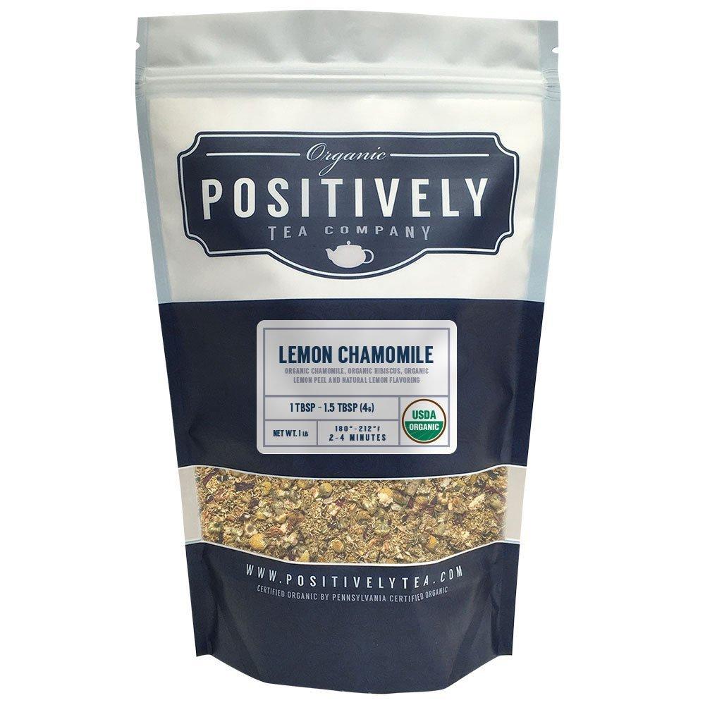 Organic Lemon Chamomile Tea, Loose Leaf Tea Bag, (1 LB.)