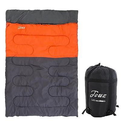 Élargi Double Sacs de couchage À l'extérieur Camping Pause déjeuner Coton Enveloppe