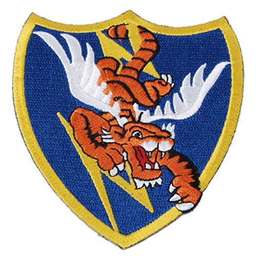 Heerpoint Reproduction WWII US Air Force Flying Tigers AVG Badge - Wwii Patches Air Force