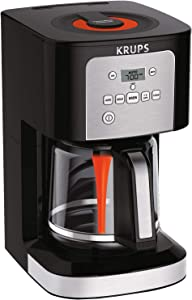 KRUPS 7211002967 EC321 Coffee Machine, 12-Cup( (60 fl ounce )), Black