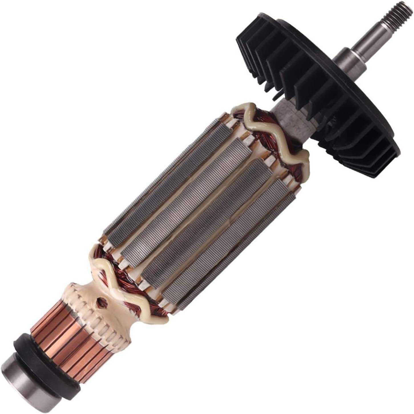 ZHANGAIGUO Angle Mollinder Armature Rotor Fit para Makita 9553NB 9553HB N 9555 Rotor con el rodamiento 607 Ángulo Grinder Rotor Accesorios