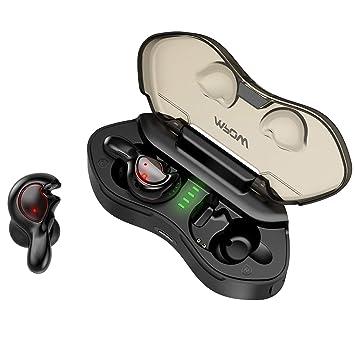 Mpow TWS Auriculares Bluetooth 5.0, T7 Auriculares Inalámbricos IPX5 Impermeable Mini In Ear Sonido estéreo