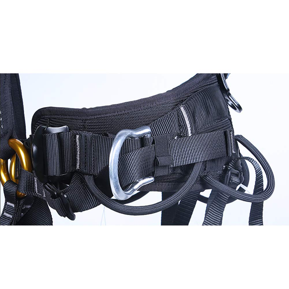 Outdoor Rock Climbing Harness Half-Length Rescue seat Belt Rappelling high-Altitude seat Belt by HENRYY (Image #5)