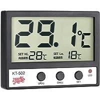Anself - Termométro De Acuario Con Alarma De