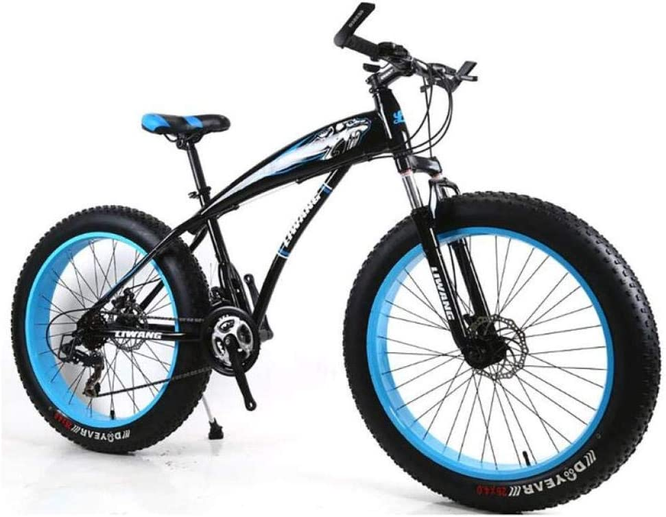 ZTYD Men's Mountain Bikes, 26 Inch Fat